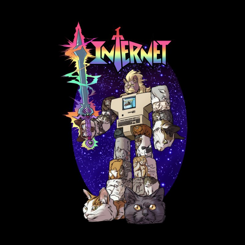INTERNET Men's T-Shirt by Threadless Artist Shop