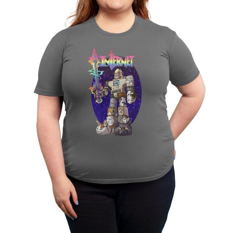 INTERNET Women's T-Shirt by Threadless Artist Shop