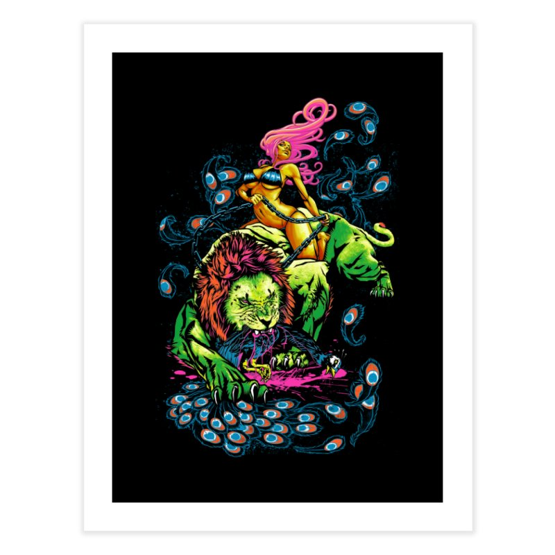 SOUR PUSS Home Fine Art Print by Threadless Artist Shop