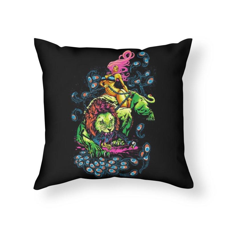 SOUR PUSS Home Throw Pillow by Threadless Artist Shop