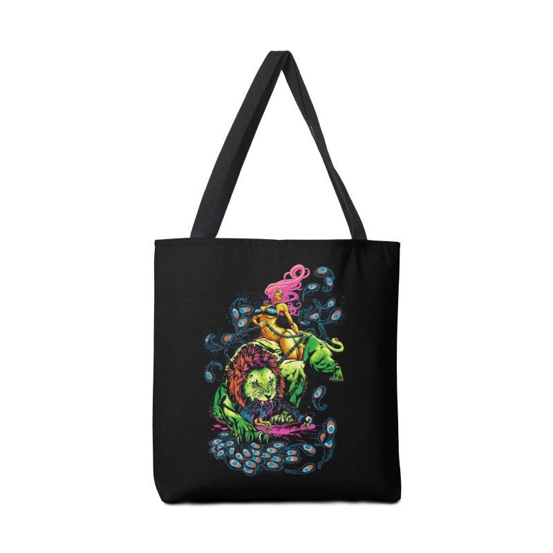 SOUR PUSS Accessories Bag by Threadless Artist Shop