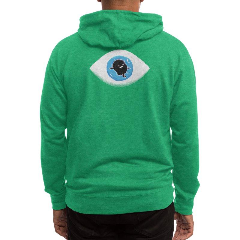 Lazy eye Men's Zip-Up Hoody by Threadless Artist Shop