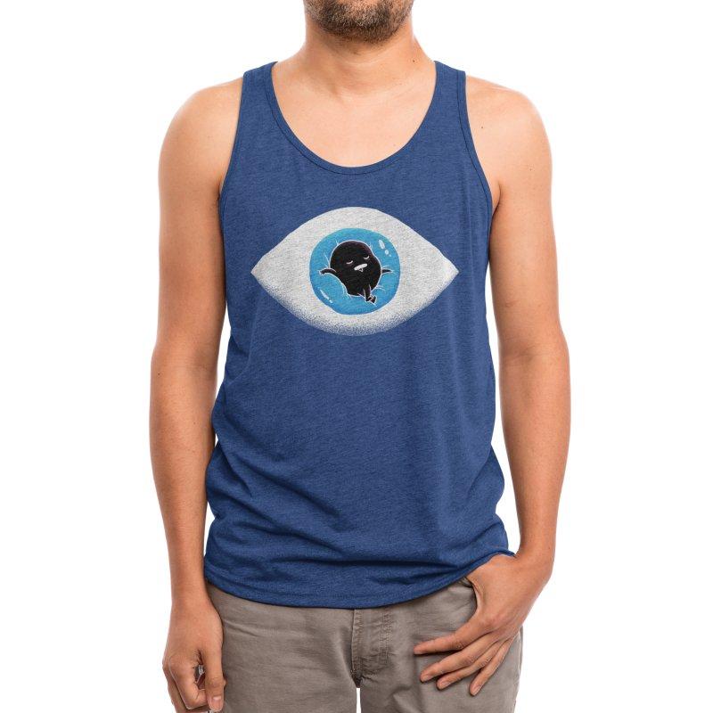 Lazy eye Men's Tank by Threadless Artist Shop