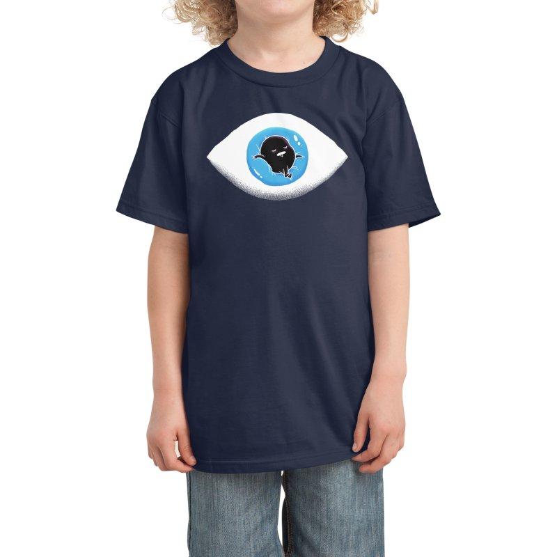 Lazy eye Kids T-Shirt by Threadless Artist Shop