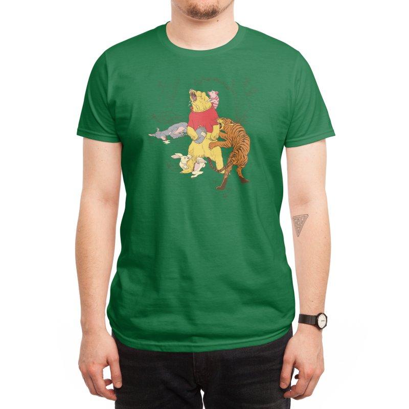 A Very Naughty Bear Men's T-Shirt by Threadless Artist Shop