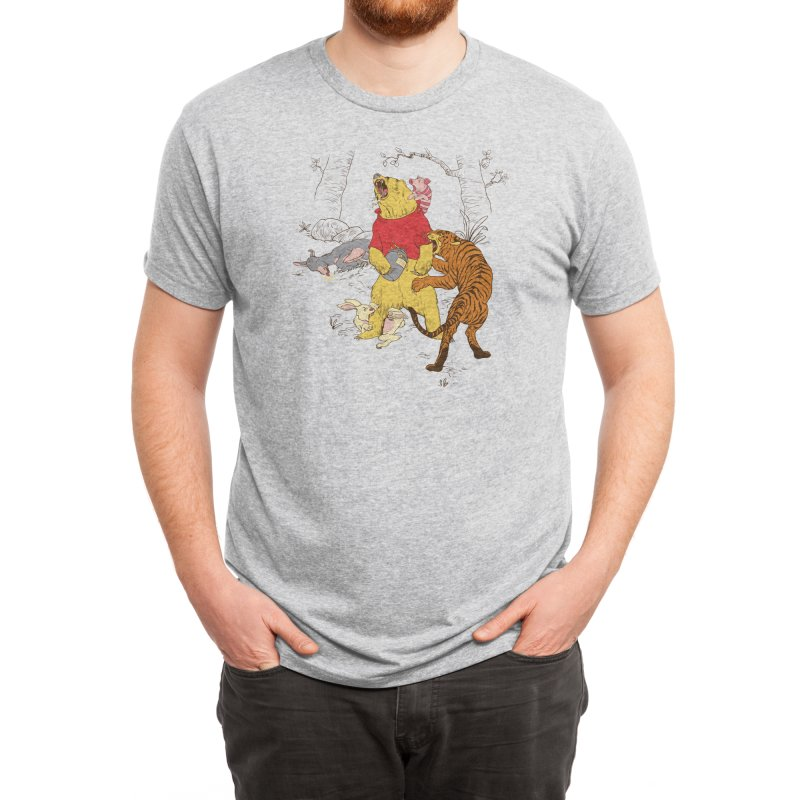 A Very Naughty Bear Men's T-Shirt by Threadless Artist Shop