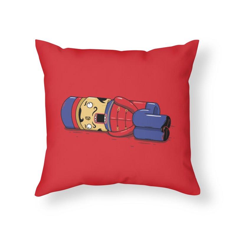 THE NUTCRACK-ERRR Home Throw Pillow by Threadless Artist Shop