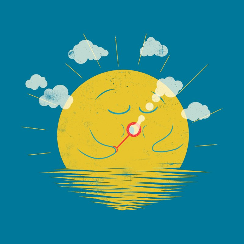 Partly Cloudy Men's T-Shirt by Threadless Artist Shop