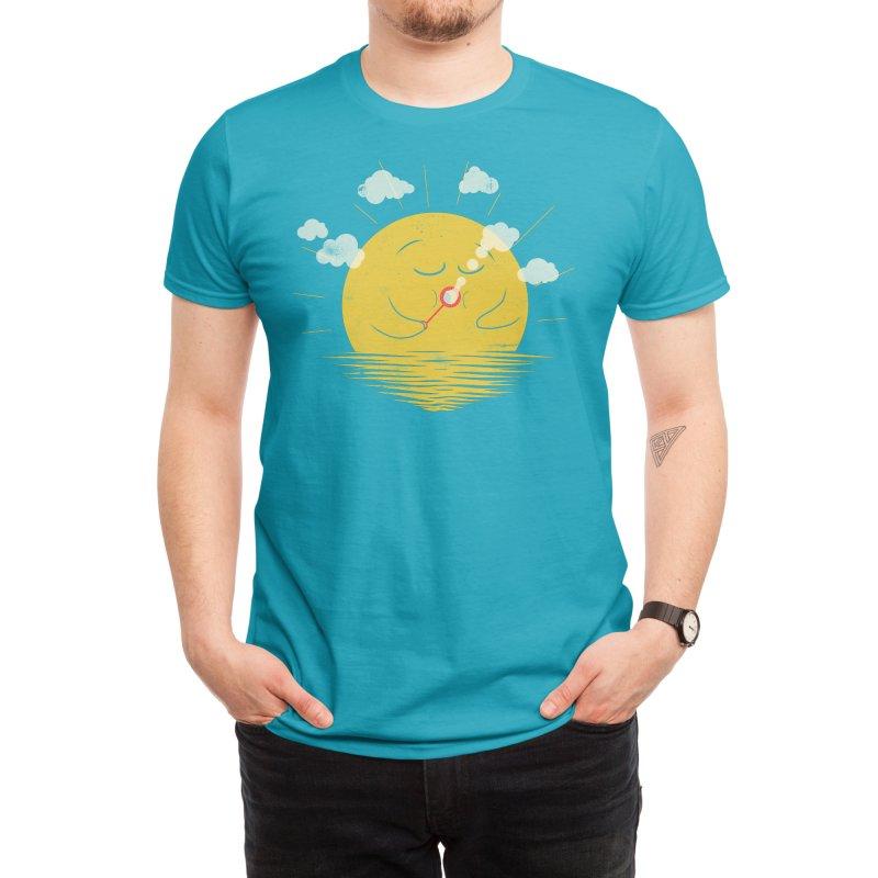 Partly Cloudy Men's T-Shirt by Threadless Artist Shop