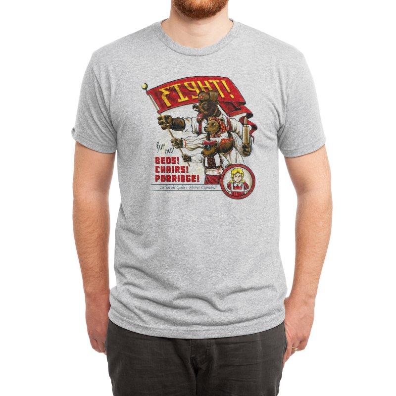 The Bearshevik Revolution Men's T-Shirt by Threadless Artist Shop