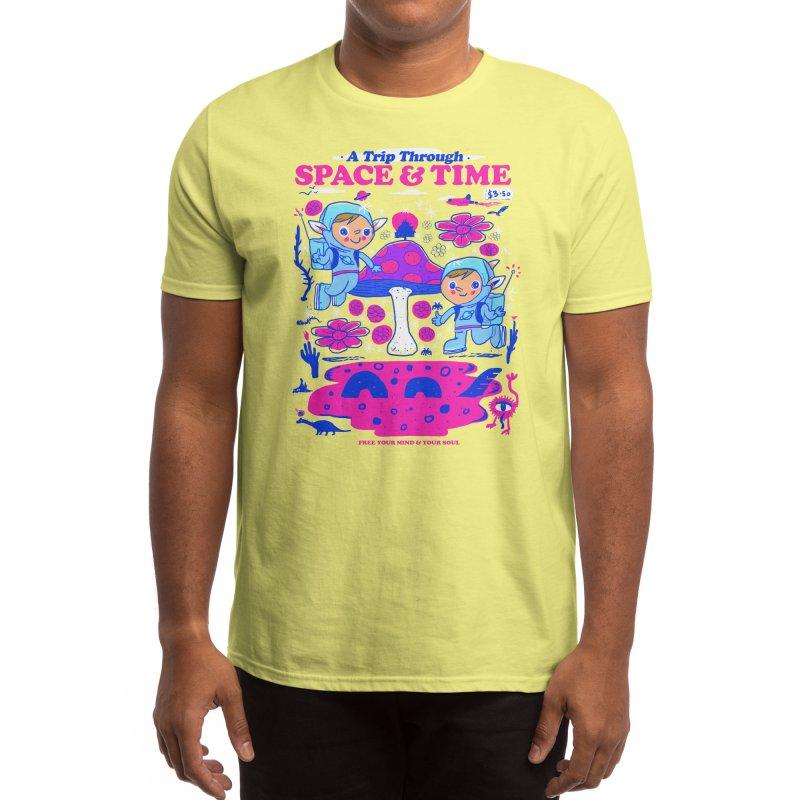 A Trip Through Space and Time Men's T-Shirt by Threadless Artist Shop