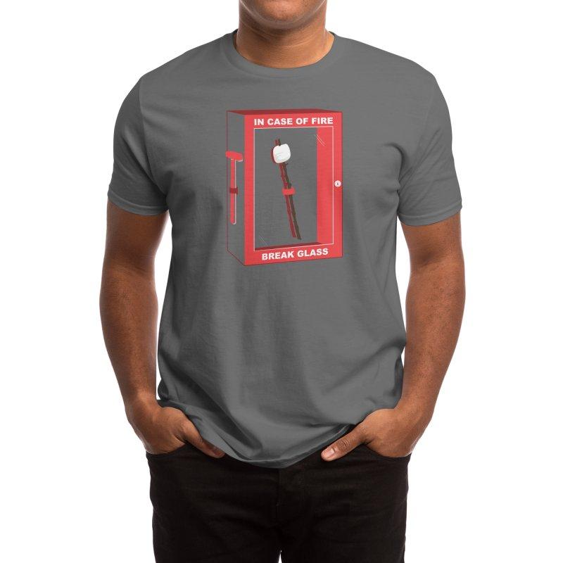 In Case of Fire Men's T-Shirt by Threadless Artist Shop