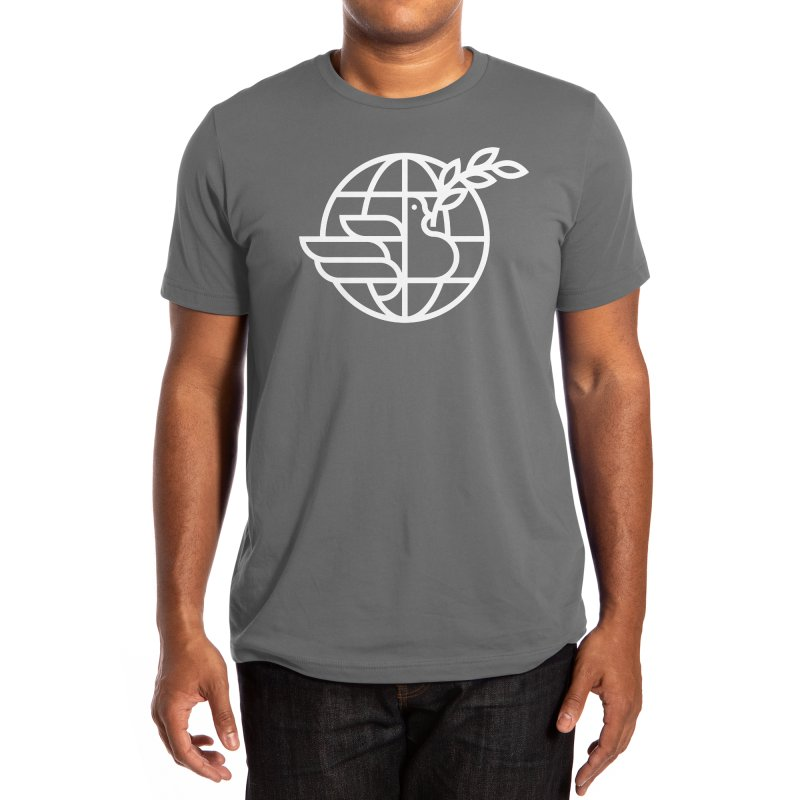 Peace in the World Men's T-Shirt by Threadless Artist Shop