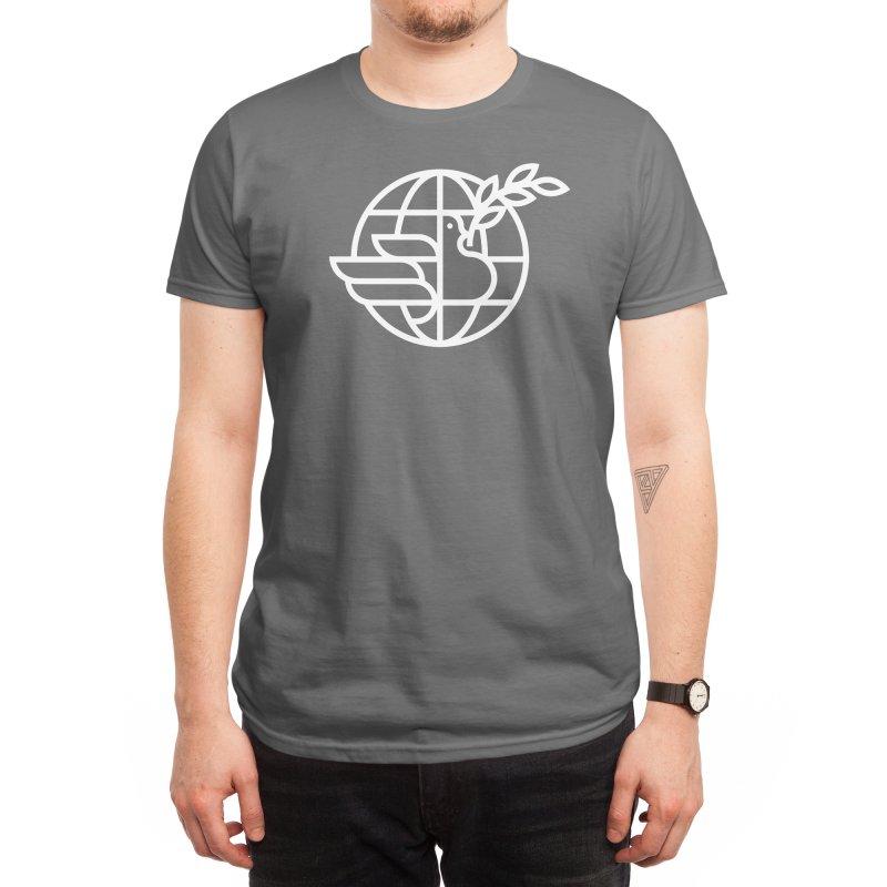 Peace in the World Men's T-Shirt by Threadless Artist Shop