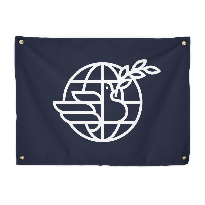 Peace in the World Home Tapestry by Threadless Artist Shop