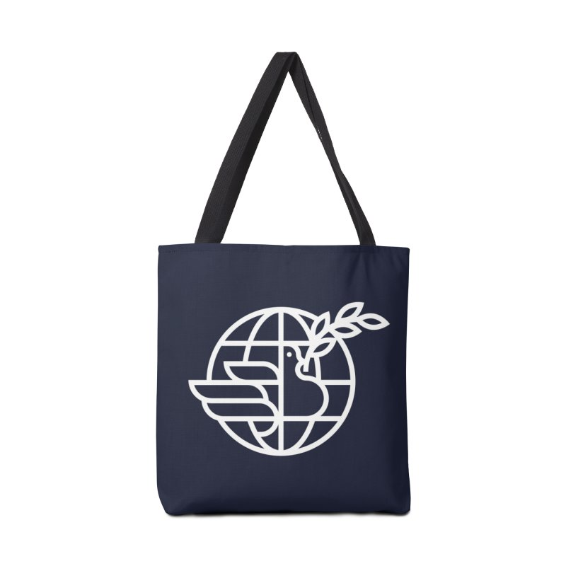 Peace in the World Accessories Bag by Threadless Artist Shop