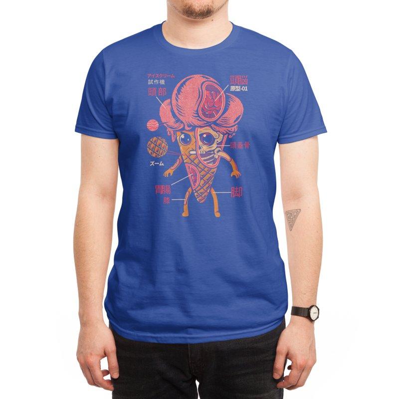 Ice Cream Kaiju Men's T-Shirt by Threadless Artist Shop