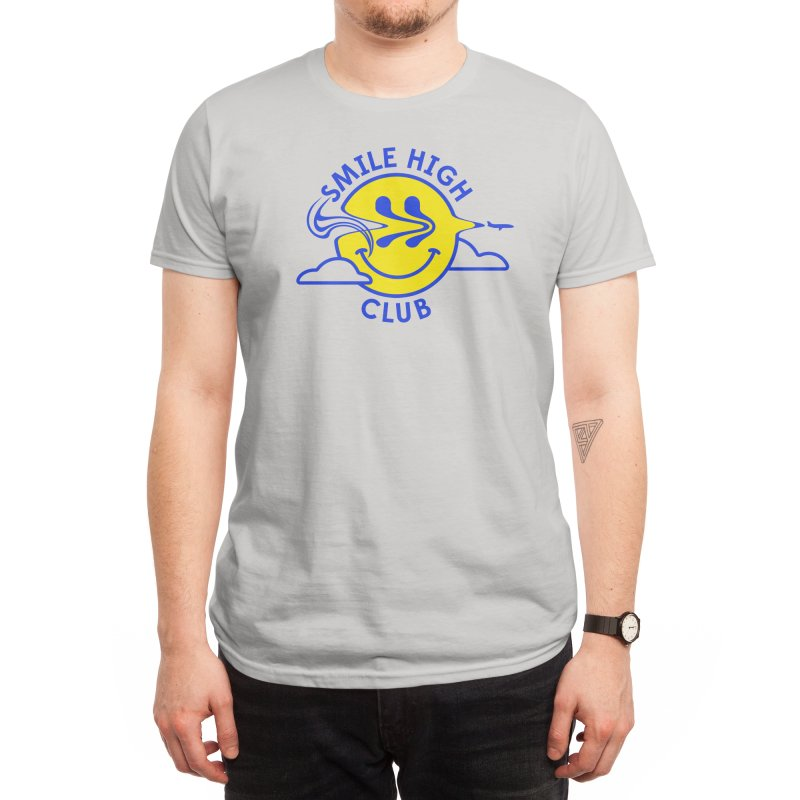 Smile High Club Men's T-Shirt by Threadless Artist Shop