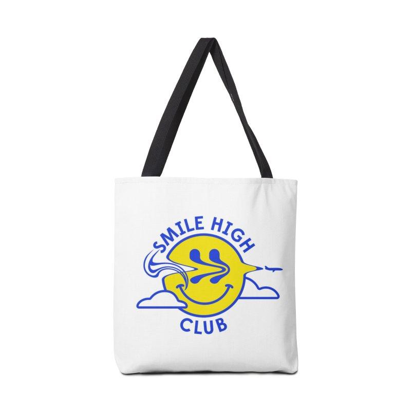 Smile High Club Accessories Bag by Threadless Artist Shop