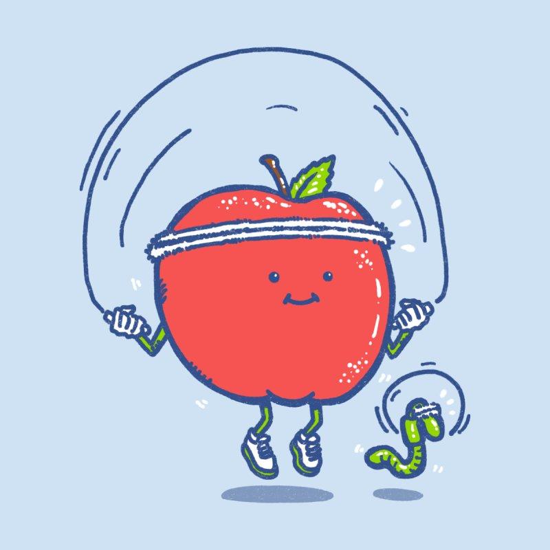 Wellness Apple Women's T-Shirt by Threadless Artist Shop