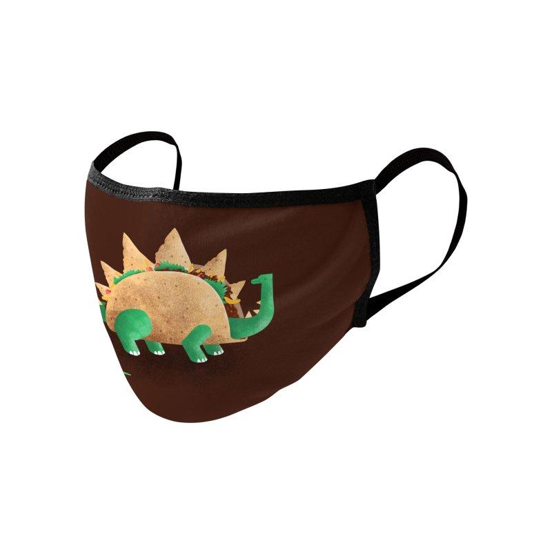 Tacosaurus Accessories Face Mask by Threadless Artist Shop