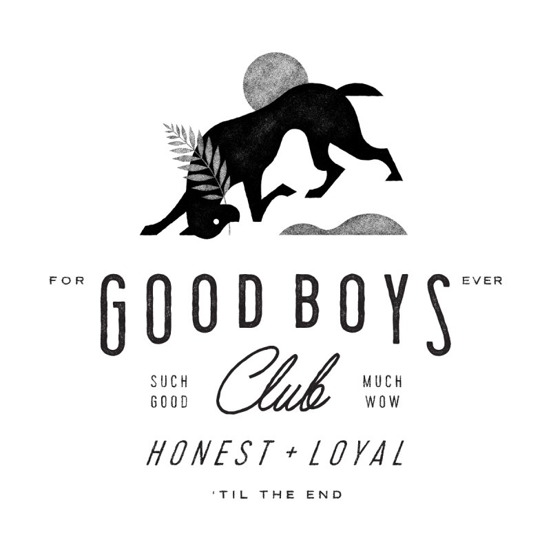 Good Boys Club Accessories Face Mask by Threadless Artist Shop