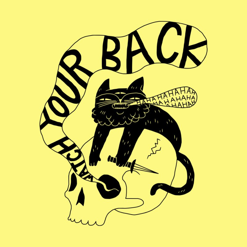 Watch Your Back Men's T-Shirt by Threadless Artist Shop