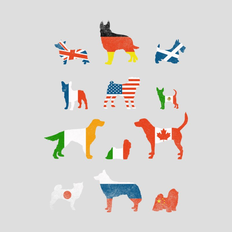 Many Nations Under Dog Home Throw Pillow by Threadless Artist Shop