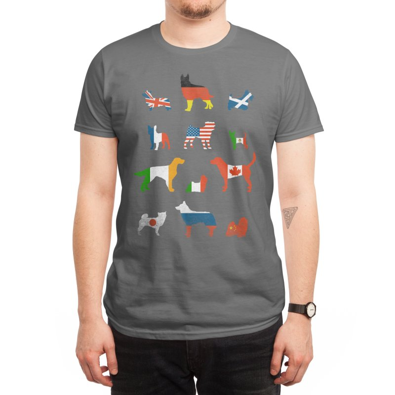 Many Nations Under Dog Men's T-Shirt by Threadless Artist Shop