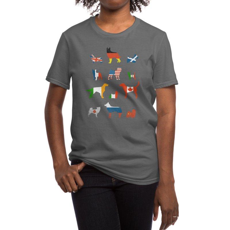 Many Nations Under Dog Women's T-Shirt by Threadless Artist Shop