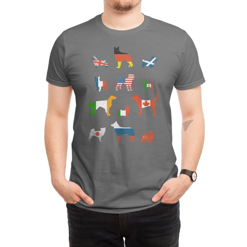 Many Nations Under Dog Men's T-Shirt by Threadless Artist Shop