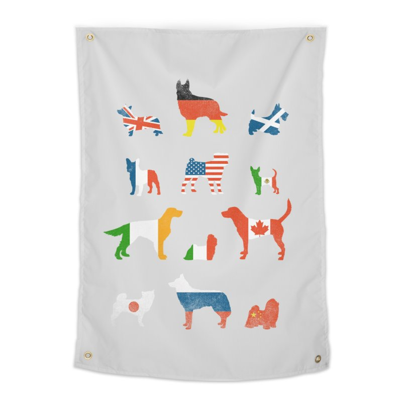 Many Nations Under Dog Home Tapestry by Threadless Artist Shop