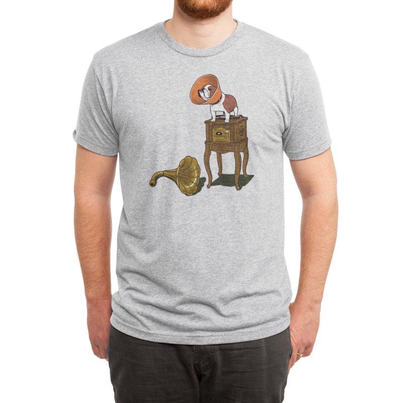 Gramodog Men's T-Shirt by Threadless Artist Shop