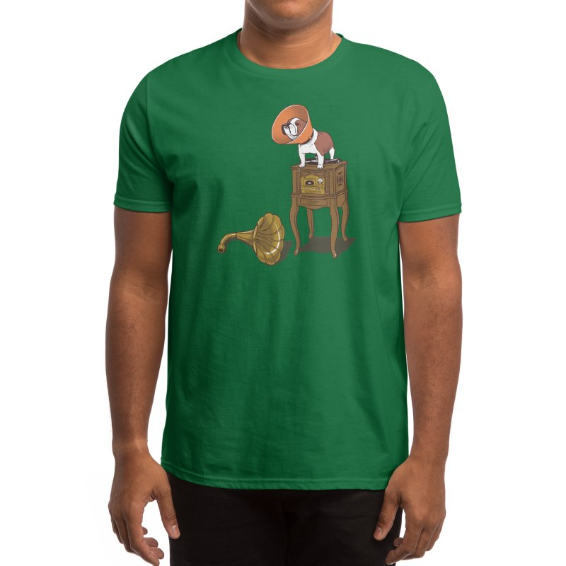 Gramodog Men's T-Shirt by Threadless Artist Shop