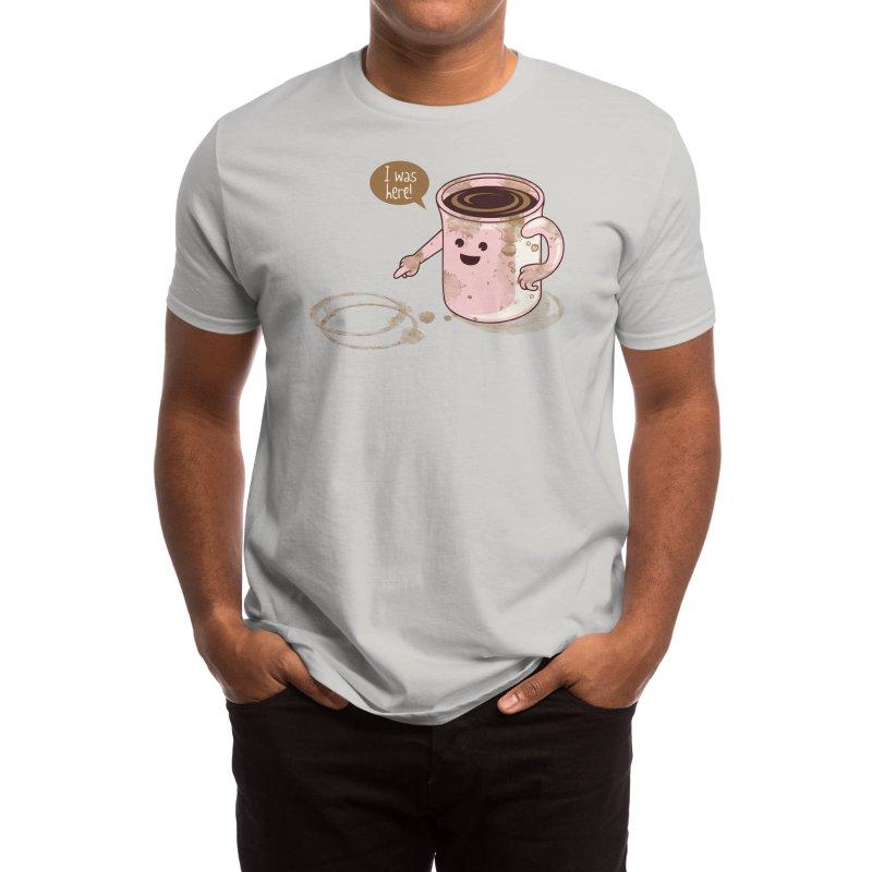 I Was Here Men's T-Shirt by Threadless Artist Shop