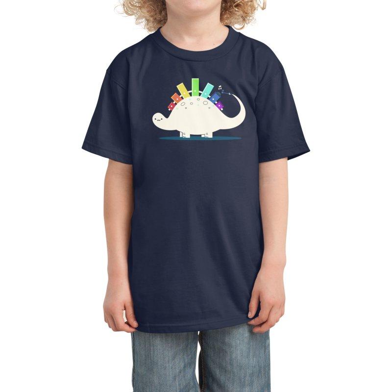 Xylosaurus Kids T-Shirt by Threadless Artist Shop