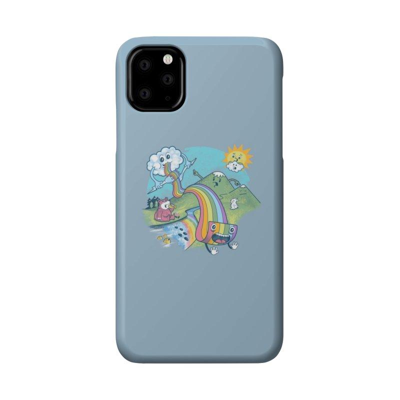 Rainbow Pasta Accessories Phone Case by Threadless Artist Shop