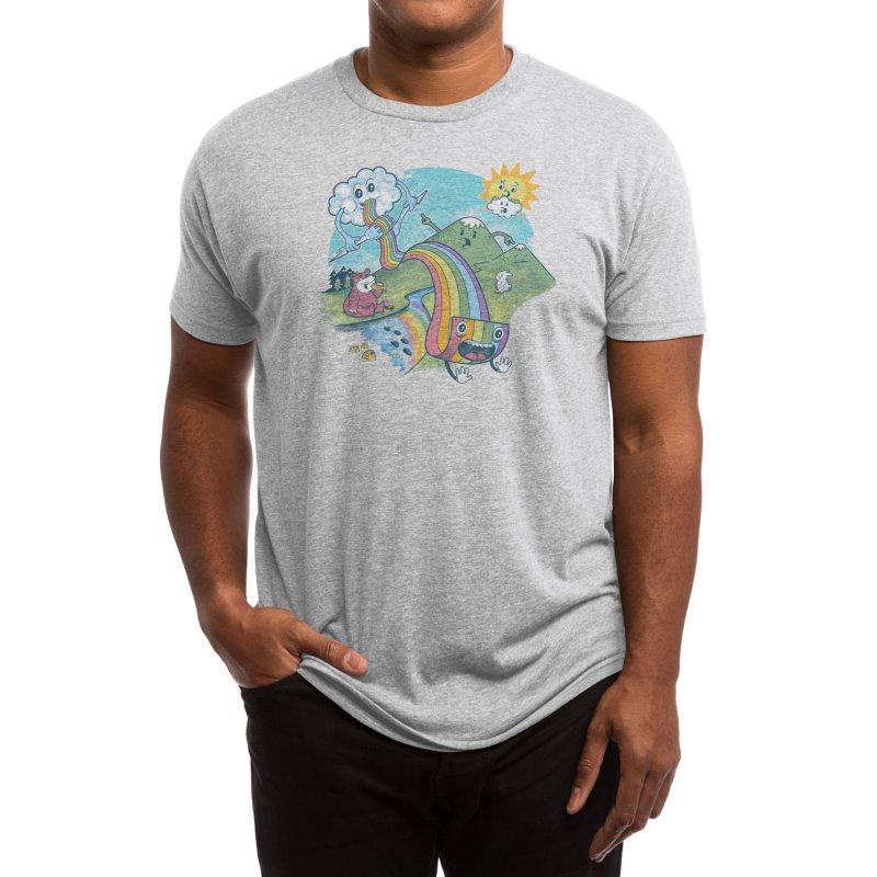 Rainbow Pasta Men's T-Shirt by Threadless Artist Shop