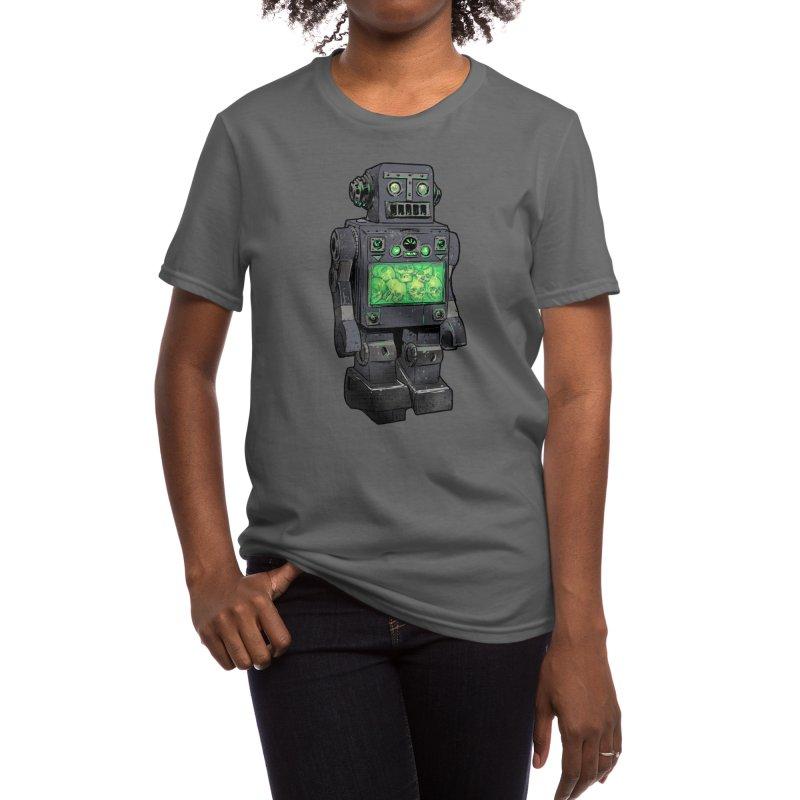 THE DISTANT FUTURE Women's T-Shirt by Threadless Artist Shop