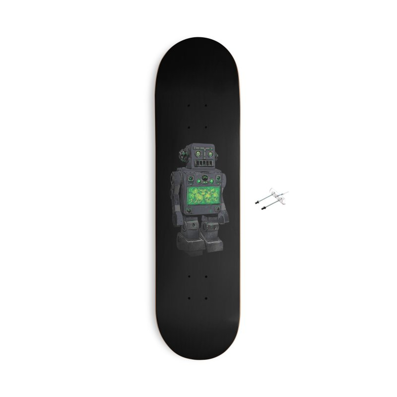 THE DISTANT FUTURE Accessories Skateboard by Threadless Artist Shop