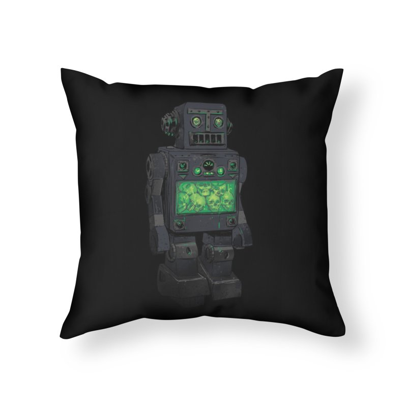 THE DISTANT FUTURE Home Throw Pillow by Threadless Artist Shop