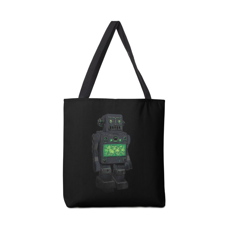 THE DISTANT FUTURE Accessories Bag by Threadless Artist Shop