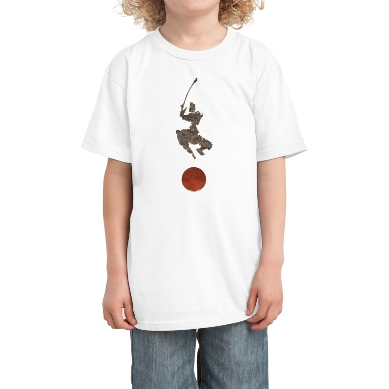 Leaf in the Wind Kids T-Shirt by Threadless Artist Shop