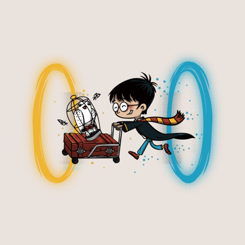 Harry Portal Men's T-Shirt by Threadless Artist Shop