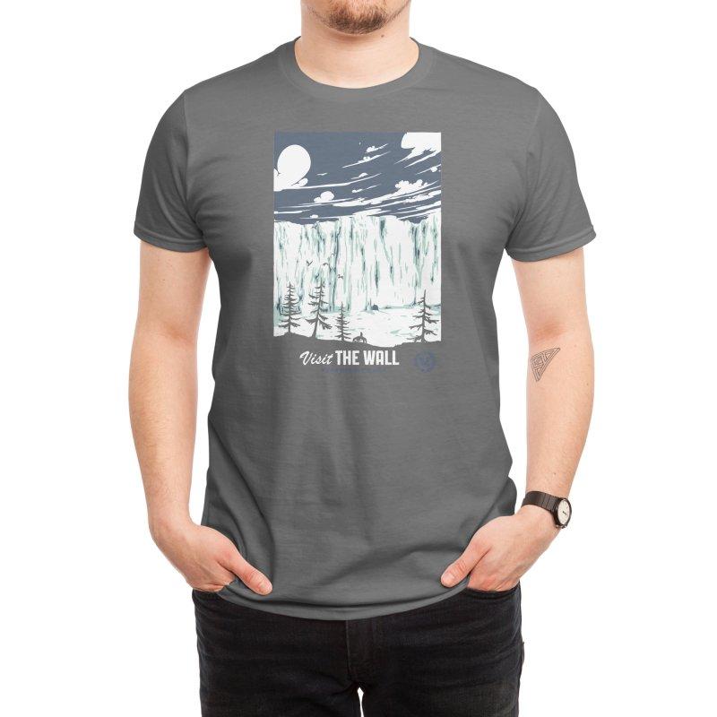 Visit the Wall Men's T-Shirt by Threadless Artist Shop