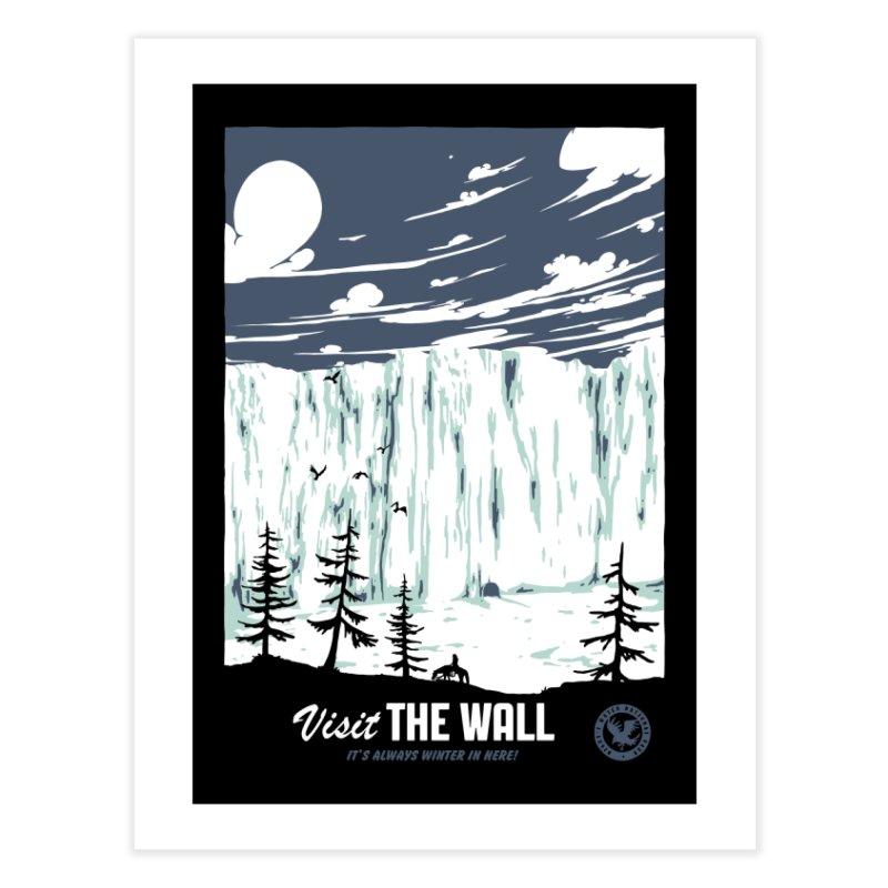 Visit the Wall Home Fine Art Print by Threadless Artist Shop