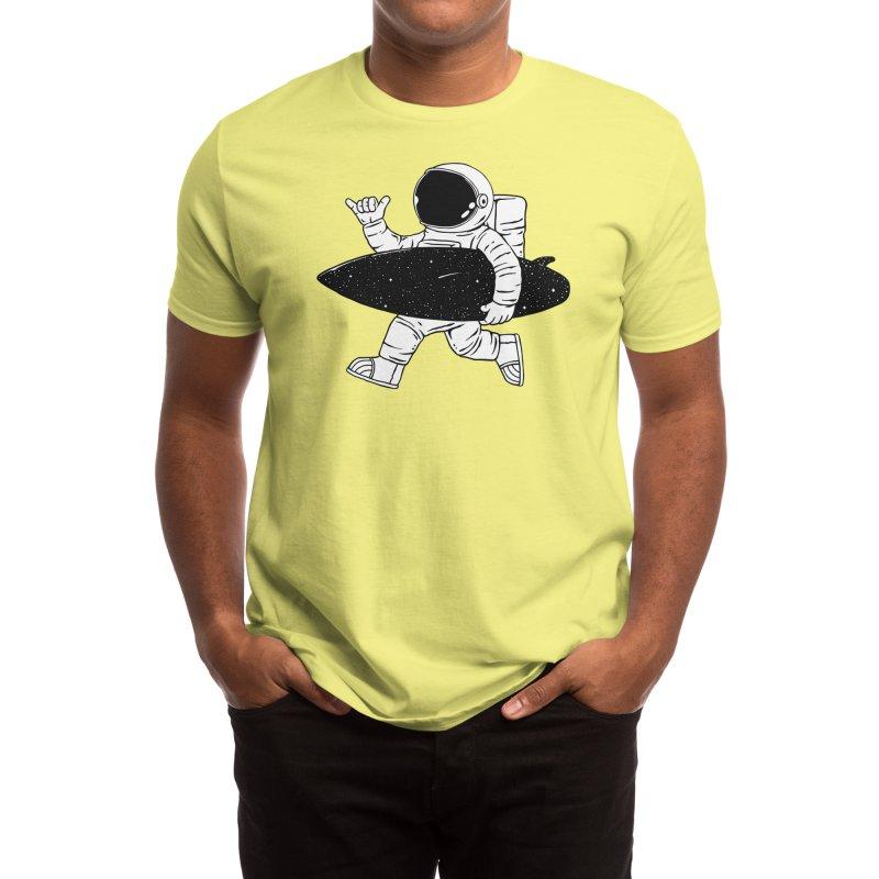 Space Surfer Men's T-Shirt by Threadless Artist Shop