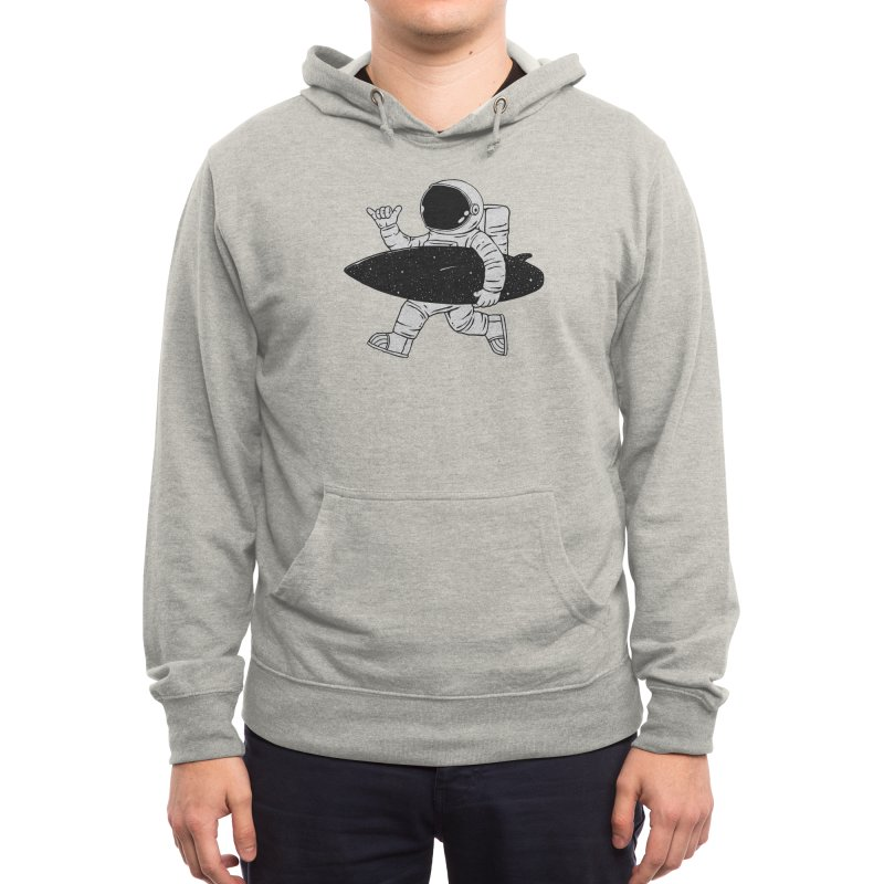 Space Surfer Men's Pullover Hoody by Threadless Artist Shop