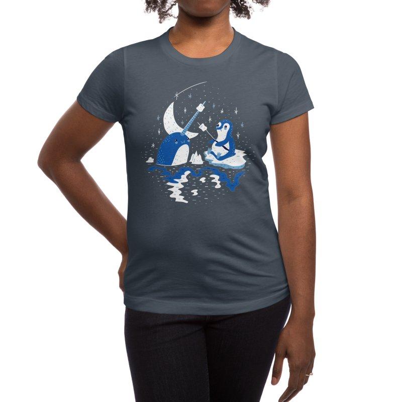 Frozen Fire Women's T-Shirt by Threadless Artist Shop
