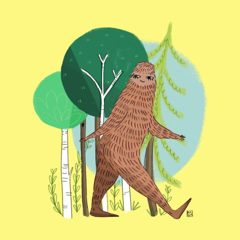 Big Foot, Big Heart Men's T-Shirt by Threadless Artist Shop